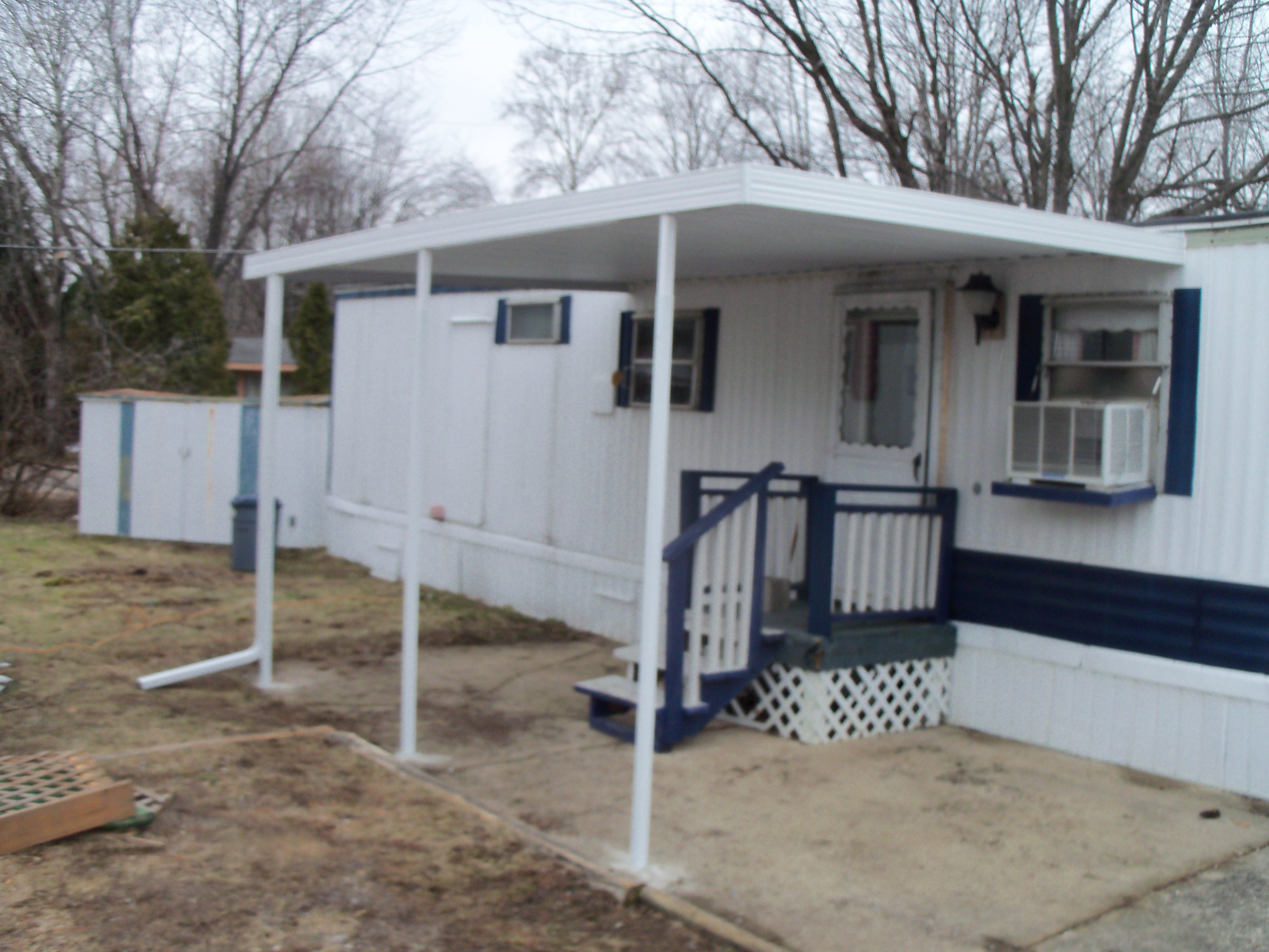 stylish mobile home patio as inspiration and thoughts